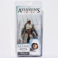 """Wholesale Altair Neca - Free Shipping NECA Assassins Creed 7"""" Assassin's Creed 1 Altair Player PVC Action Figure Toy"""