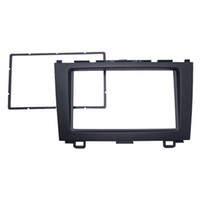 LEEWA Car <b>Double Din Audio</b> Fascia для HONDA CRV 2007-2012 Радио CD GPS DVD Стерео панель Dash Mount Установка Trim Kit # 4948