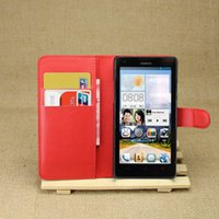Wholesale Huawei Ascend Flip Case - Luxury Case For Huawei Ascend G700 Phone With Card Holder Wallet Leather Flip Cover Bag Skin Cases For Huawei G700
