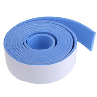 Wholesale table corner bumpers - Wholesale- Baby Safety Corner Protector Table Edge Cushion Strip Plane Bumper Strips