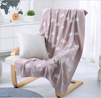 """Wholesale Lovely Baby Shawls - LOVELY CLOUD JACQUARD PATTERN KNITTED COTTON BABY BLANKET SHAWLS SIZE 50X60"""" (MMS-05)"""