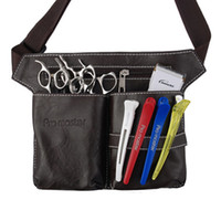 Wholesale Case Cutting Tool - Wholesale- Hair Care Styling Tools Waist Pack Professional Hair Scissors Comb Bag Hairdressing Tool Hairpin Bottle Bags Salon Case Black