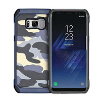 Wholesale High End Mobile Phone Cases - Mobile phone sets Samsung Galaxy S8 S8plus S7 S7edge S6 S6edge (high quality silicone) luxury high-end camouflage TPU + PC mobile phone prot