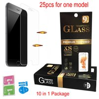 Wholesale Iphone Film Stylus - For LG K10 2017 Stylus 3 G6 LS770 LS775 Tempered Glass Screen Protector Film with Retail Package for iphone7 7Plus 6 6plus