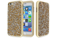Für iPhone X 8 7 6s Plus Fall Hybrid 2 in 1 Diamant Rhinestone Glitzer Mode Mobiltelefon PC zurück TPU Luxus Cover Cases