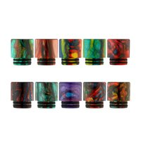 Wholesale New Baby Boxes - New Arrival TFV8 Epoxy Resin Drip Tip Wide Bore drip tips for Smok TFV8 TFV12 Baby Sub Ohm Tank 510 thread Box Mods