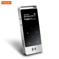Wholesale Touch Mp3 Digital Music Player - Wholesale- BENJIE S5 LOED Touch Screen MP3 Player 8GB Digital Voice Recorder Lossless HiFi Sound Music Player E-book APE FLAC WAV with FM