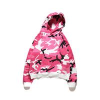 Wholesale Thick Pink Hoodie - pink Hoodies Men New Fashion Male Hoodies Hombre Hip Hop Casual Brand Hoodie Camouflage Sweatshirt Men Slim Fit Men Hoody