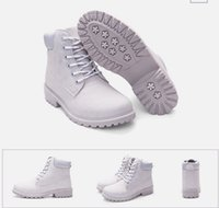 Ankle Boots spring loaded boots - female autumn and winter paragraph loading boots flat head bulk shoes women big code casual Martin boots women gray short boots