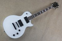 Wholesale White Guitar Black Hardware - Limited - time discount Free shipping Top quality Hot Standard Series Eclipse white Electric Guitar with Black hardware