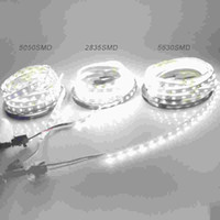 5M Led Strip IP20 SMD3528 5050 5630 300leds RGB LED tira fita fita leve quente branco teto Bar Counter gabinete de luz