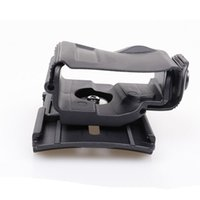 Wholesale Tactical Molle Sling - Tactical Glock Clip Right Hand 360 Degrees Rotates MOLLE Belt Waist Pistol Holster for Glock 17 22 23 Black Sand