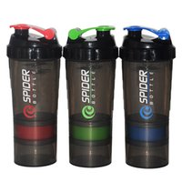 Wholesale Powdered Drinks - New Protein Fitness Cup Powder Mixer Cup Sports Fitness Gym 3 Layers Special Whey Protein Sports Water Bottles