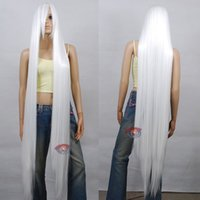 Wholesale Heart Wig - wholesale 150cm Extra Long White Cosplay Wig - 60 inch High Temp - Cosplay Wigs