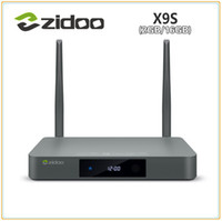 bluetooth abierto al por mayor-Presale ZIDOO X9S TV BOX Android 6.0 + WRT abierto (NAS) Realtek RTD1295 2G / 16G 802.11ac WIFI Bluetooth 1000M LAN Media Player