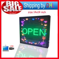 Wholesale Scrolling Screen Display Led - P5mm full Color LED Display Sign,Message Scrolling Display,Time and Image Screen,Advertising Billboard