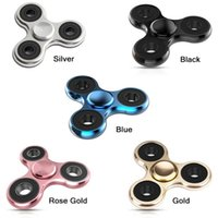 Wholesale 2017 Hot New Upgraded version Hand Spinner Fidget Toy Spinner Aluminum material High Speed Min Perfect Stress Reducer and Killing time