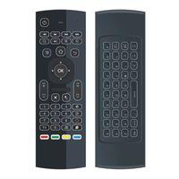 Wholesale Iptv Remote - Original MX3 2.4G Remote Backlit Mini Wireless Keyboard Air Mouse for Android TV Box IPTV HTPC Mini PC