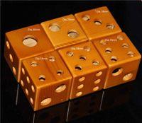 Wholesale atomizer display case for sale - Group buy Ego evod vision battery mechanical mod atomizer Display case Stands wooden dice style stands showcase wood shelf holder