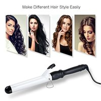 Wholesale Tech 21 Wholesale - Curling Iron, 1-1 4 Inch Professional Curling Wand   Ceramic Ionic Tech, Damage-free Hair Curler with Thermal Glove   Digital Thermostat