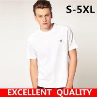 Wholesale England Tshirt - Shirt Men Short Sleeve O Neck Hip Hop Man tshirt Casual cotton Tees Tops Mens Top Tee High Quality Brand embroidered men's clothing