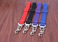 Wholesale Harness Wholesale Prices - Best price Cat Dog Pet Safety Seatbelt for Car Vehicle Seat Belt Adjustable Harness Lead 300pcs