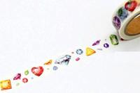 ingrosso nastro di carta adesivo di mascheramento-All'ingrosso- 2016 1 rotolo = 15mmx7m Diamanti di alta qualità modello giapponese Washi nastro adesivo decorativo diy nastro adesivo di carta etichetta adesiva G