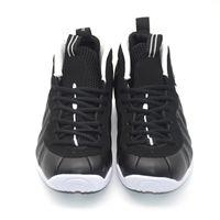 Wholesale Black Basketball Foam Shoes - 2016 Black White Pro Dr. Doom Basketball Sneaker Athletic penny hardaway Asteroid Fire Mirror Wolf Grey Foams sport shoes 41-47