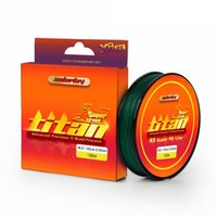 Wholesale SOLOPLAY m Super Strong Weaves Strand Japan PE Braided Fishing Line Multifilament LB