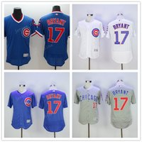 Men order for sale - 2017 New Mix Order Sale Youth New Arrival Chicago Cubs MLB Jersey Baseball Postseason Patch Kris Bryant MLB jersey Sports For sale