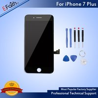 Wholesale Wholesale Phone Lcd Replacement - For Black iPhone 7 Plus LCD Display Touch Digitizer Assembly Repair Replacement For Phone 7 Plus with Tools & Free Shipping