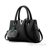 Wholesale Korean Style Hobo Handbags - Korean Version Of The Ladies Dumplings Bag Shoulder Messenger Nice New Fashion Handbags Female Shoulder Bag Leisure Messenger Bag Tide