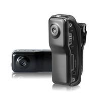 bike dvr großhandel-Mini DV MD80 DVR Videokamera 720P HD DVR Sport Freien Helm Fahrrad Motorrad Kamera Video Audio Recorder Camcorder
