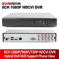 Wholesale Dvr 8ch Real Time - Dahua Solution 8CH HDCVI DVR HD-CVI CVR 8CH 1080P 720P Real time Recorder Hybrid nvr with HDMI & VGA Output Remote View For HD CVI Camera