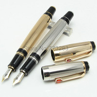 Wholesale Gold Nib Fountain Pen - Luxury PIX Germany Bohemia series pen M 4810 Nib mb gold fountain pen canetas with Gem, ink converter pen