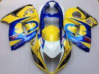 Wholesale Hayabusa Corona - New Injection Mold ABS Fairings Kits For Suzuki Hayabusa GSXR1300 GSX-R 1300 GSXR 1300 2008-2015 08 09 10 11 12 13 14 15 yellow blue corona