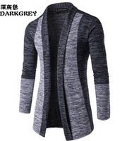 Wholesale Classic Wool Coats Men - Free shipping - the new men's classic hit cardigan sweater fashion men's knitted coat M - XXL