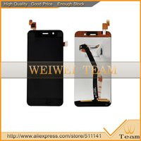 Wholesale Mtk6589 Screen - Wholesale-NEW Original LCD Screen Display With Touch Panel Digitizer for JIAYU G4 G4C G4S MTK6589 IPS8K9366FPC TFT5K0139FPC version