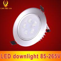 Wholesale Down Bulb 9w - High Power LED Downlight 7W 9W 12W Led Ceiling Lamp Bulb 110V 220V LED Spot Lighting Led Down Light Downlight with Led Driver