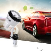 Wholesale Usd Cars - Upgraded Car 12V Car Humidifier Air Purifier Aroma Diffuser Essential oil diffuser Aromatherapy Mist Maker with 1 2 usd