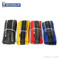 Wholesale cycles tires - Original Michelin LITHION 2 Road Bike Tire 700 * 23C Tire Hole 260g 700C Light Blue Red Black Yellow Cycling Tire Bike