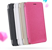 Wholesale Lenovo Nillkin - Leater Case For Lenovo K6 Power cover case NILLKIN Sparkle super thin leather case flip cover with Retailed Package