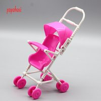 Wholesale Wholesale Kelly Dolls New - New DIY Assemble Baby Carriage Stroller Trolley Doll Furniture Happy Family Doll Accessories for Barbie's Kelly