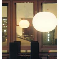 flos glo ball lmpara colgante araa moderna vidrio comedor colgante luz creative luminaria colgante