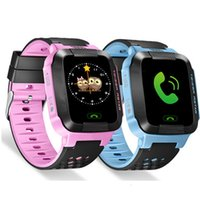 Sport Q528 Montre intelligente pour enfants avec écran tactile Flash SOS Call Location Finder for Child