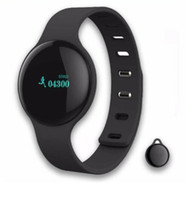 Wholesale Tester For Camera - Health Bluetooth 4.0 H8 Smart Bracelet Fitness Sport Tester Watches Pulsera Actividad For Phone Sleep Tracker Wristband phone calls reminde