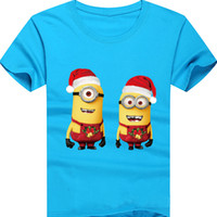 Wholesale Shirt Babys - 2017 New style T-shirts for boys and girls 3D cartoon print cotton kids t-shirts short sleeves Round Neck babys T-shirts