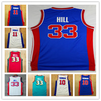 order for sale - Hot sale Top Quality Dennis Rodman Jersey Isaiah Thomas basketball jersey Grant Hill jersey for mens embroidery logo Mix Order