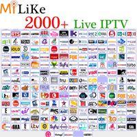 Wholesale Wholesale Romania - Wholesale iptv streaming subscription android APK for European Arab box French HD 2000+ IPTV sky UK DE IT USA portugal Turkey Romania Russia