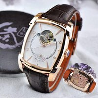 Wholesale Imported Roses - Top Quality Geneva Rose Gold Carved Flower Mens Luxury Wristwatches Imported Mechanical Hand-winding Energy Storage Movement